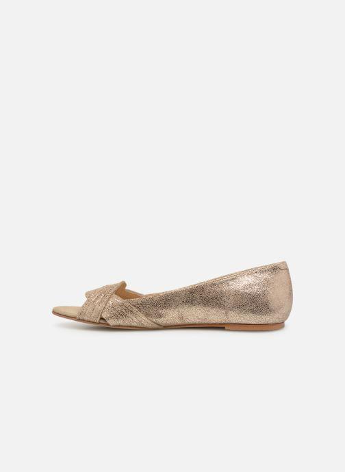 Ballerinas Jonak DUTIA gold/bronze ansicht von vorne