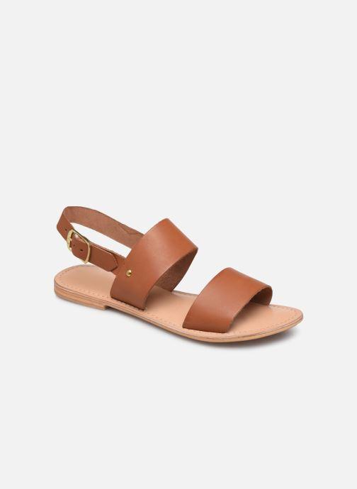 Sandaler Jonak WAOUDA 804 Brun detaljeret billede af skoene