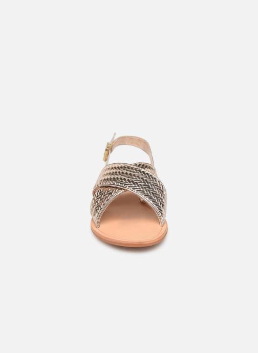 Sandales et nu-pieds Jonak WAPITI Or et bronze vue portées chaussures