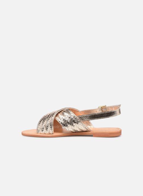 Sandales et nu-pieds Jonak WAPITI Or et bronze vue face
