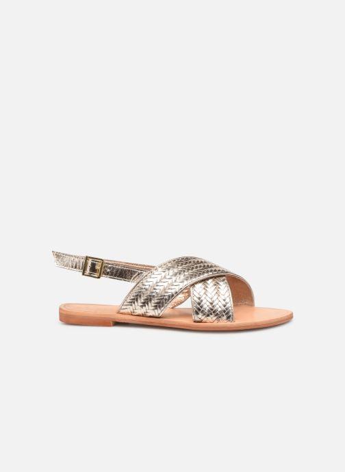 Sandales et nu-pieds Jonak WAPITI Or et bronze vue derrière