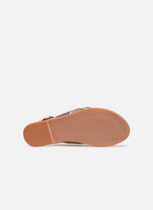 Sandales et nu-pieds Jonak WAPITI Or et bronze vue haut
