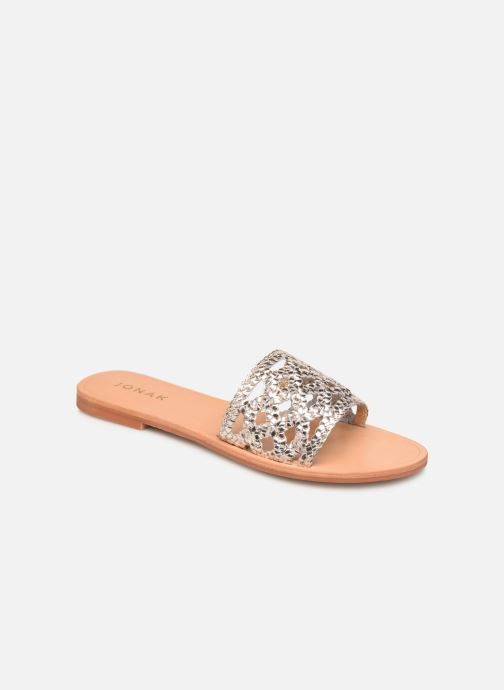 Clogs og træsko Jonak WEB Guld og bronze detaljeret billede af skoene