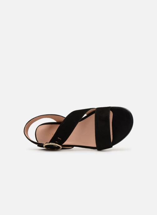 Sandals Jonak ABLA Black view from the left
