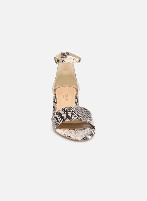 Sandales et nu-pieds Jonak VERDI Gris vue portées chaussures