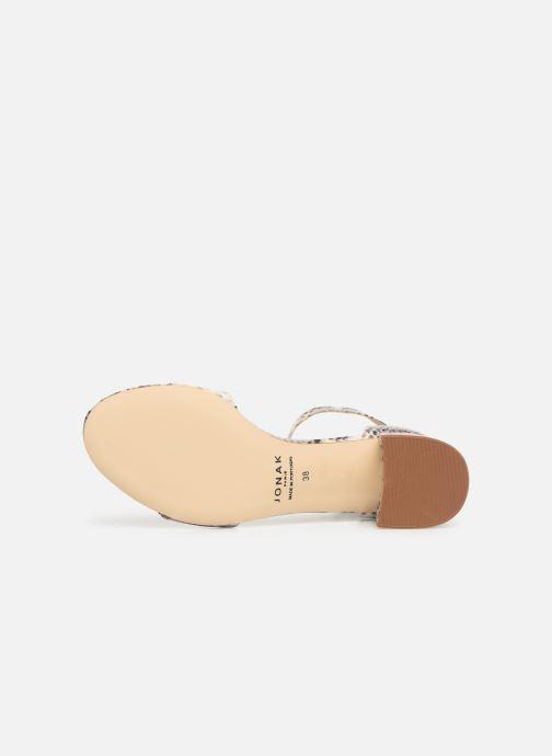 Sandales et nu-pieds Jonak VERDI Gris vue haut