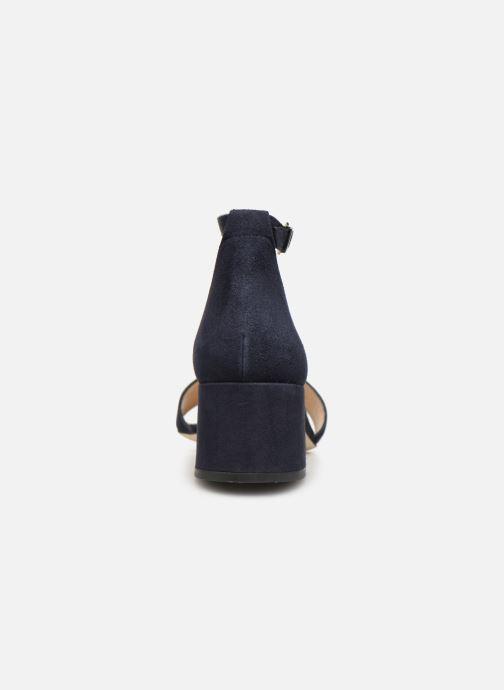 Sandales et nu-pieds Jonak VERDI Bleu vue droite