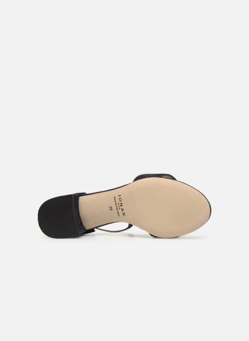 Sandales et nu-pieds Jonak VERDI Bleu vue haut
