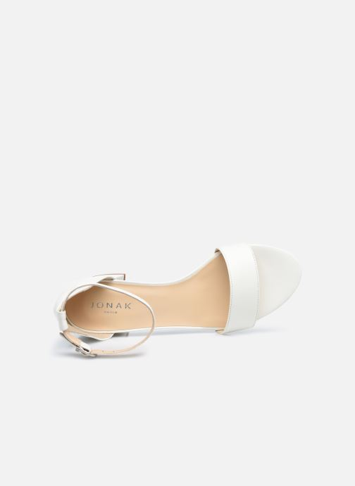 Sandali e scarpe aperte Jonak VERDI Bianco immagine sinistra