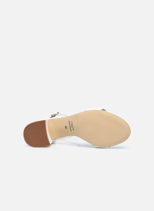 Sandali e scarpe aperte Jonak VERDI Bianco immagine dall'alto