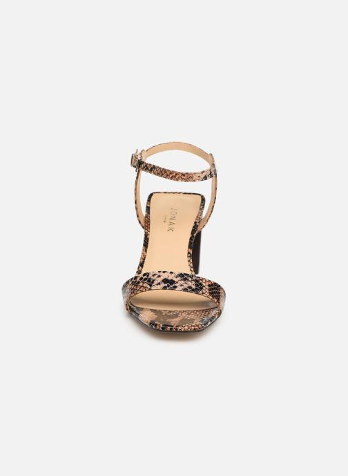 Sandales et nu-pieds Jonak VRISTO Marron vue portées chaussures