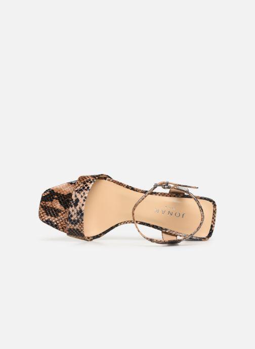 Sandali e scarpe aperte Jonak VRISTO Marrone immagine sinistra