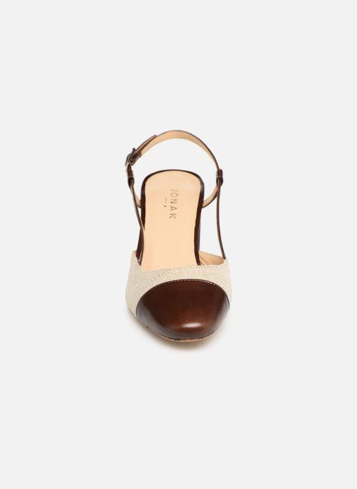 Sandales et nu-pieds Jonak VAMELIA Marron vue portées chaussures