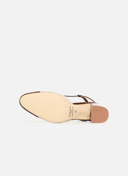 Sandales et nu-pieds Jonak VAMELIA Marron vue haut