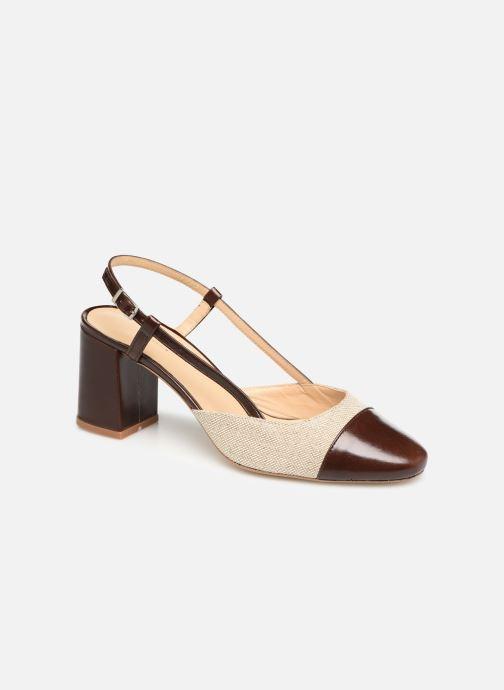 Sandales et nu-pieds Jonak VAMELIA Marron vue détail/paire