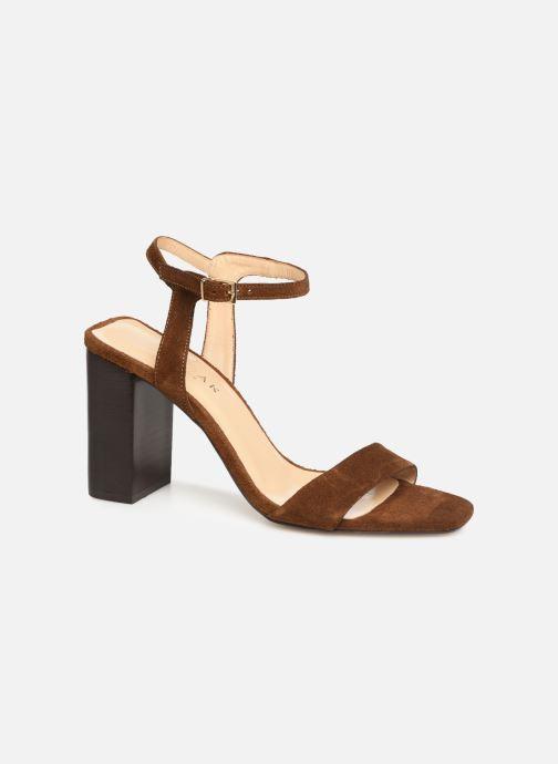 Sandales et nu-pieds Jonak VROSE Marron vue détail/paire