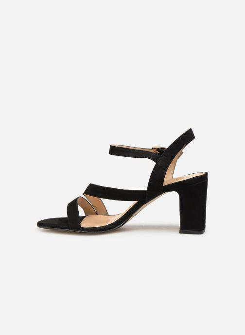 Sandales et nu-pieds Jonak VEDHI Noir vue face