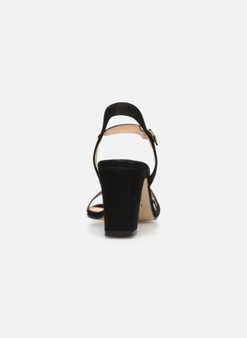 Sandals Jonak VEDHI Black view from the right