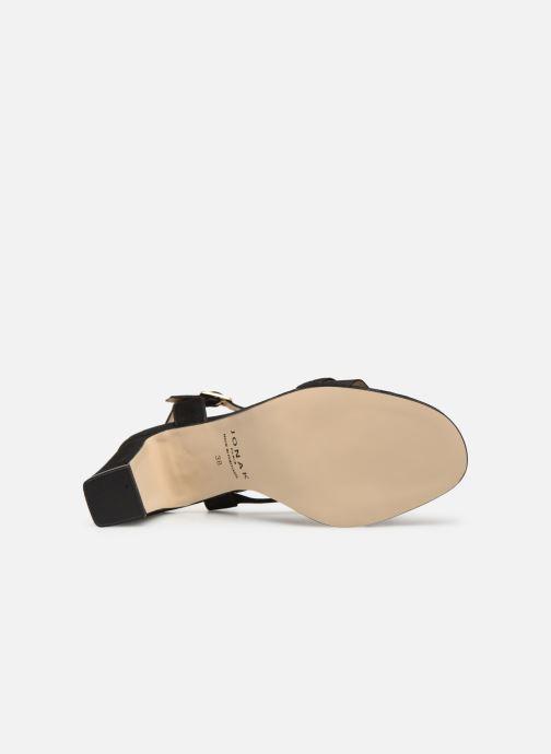 Sandales et nu-pieds Jonak VEDHI Noir vue haut