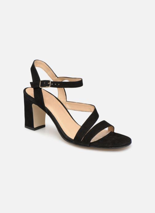 Sandales et nu-pieds Jonak VEDHI Noir vue détail/paire