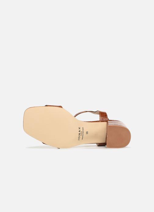 Sandales et nu-pieds Jonak VICHO Marron vue haut