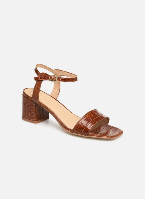 Sandals Jonak VICHO Brown detailed view/ Pair view