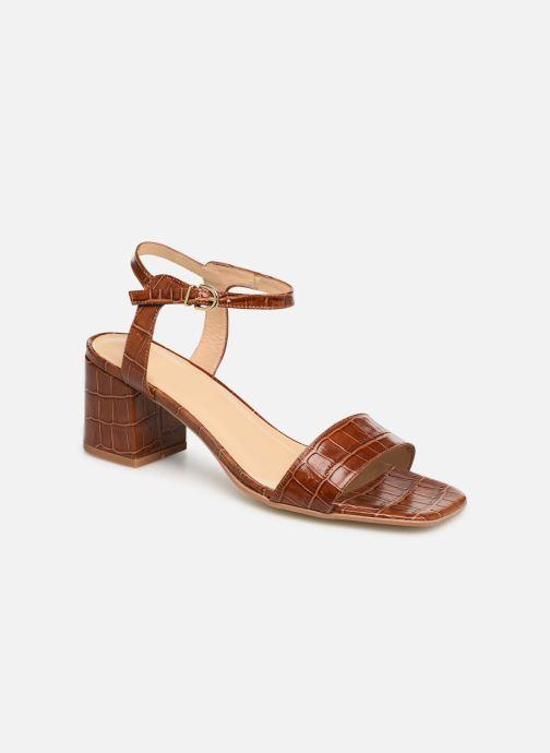 Sandales et nu-pieds Jonak VICHO Marron vue détail/paire