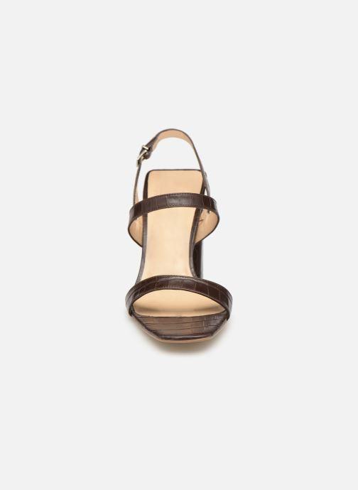 Sandales et nu-pieds Jonak VIMATI Marron vue portées chaussures