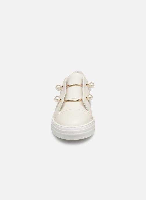 Baskets Jonak DULCILENE Blanc vue portées chaussures