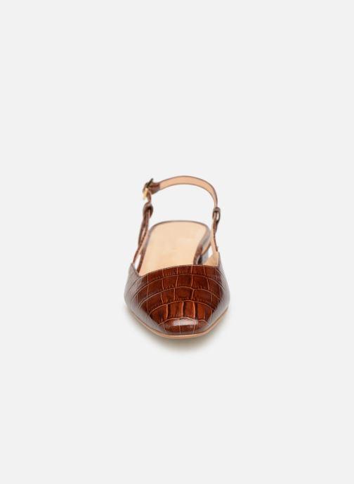 Sandales et nu-pieds Jonak DHAPSANS Marron vue portées chaussures