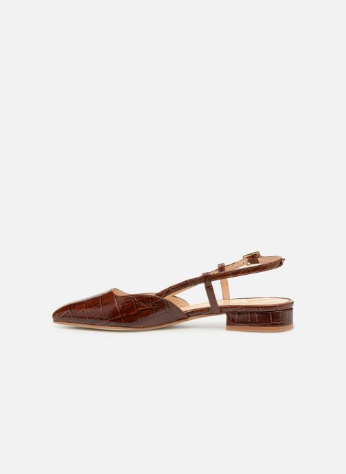 Sandales et nu-pieds Jonak DHAPSANS Marron vue face
