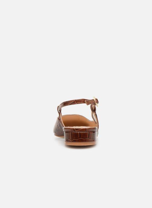 Sandales et nu-pieds Jonak DHAPSANS Marron vue droite