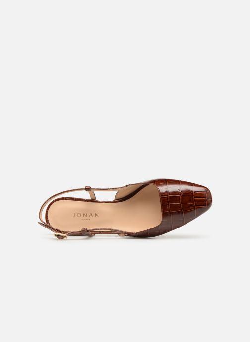Sandales et nu-pieds Jonak DHAPSANS Marron vue gauche