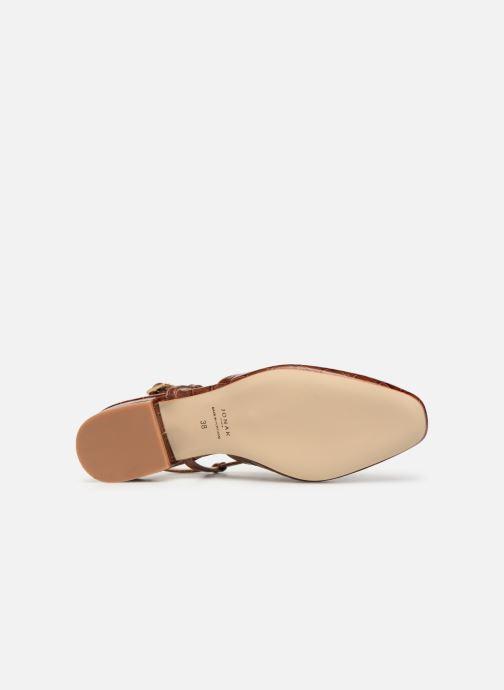 Sandales et nu-pieds Jonak DHAPSANS Marron vue haut