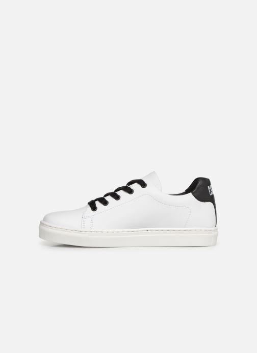 Sneakers KARL LAGERFELD Basket Z29016 Wit voorkant
