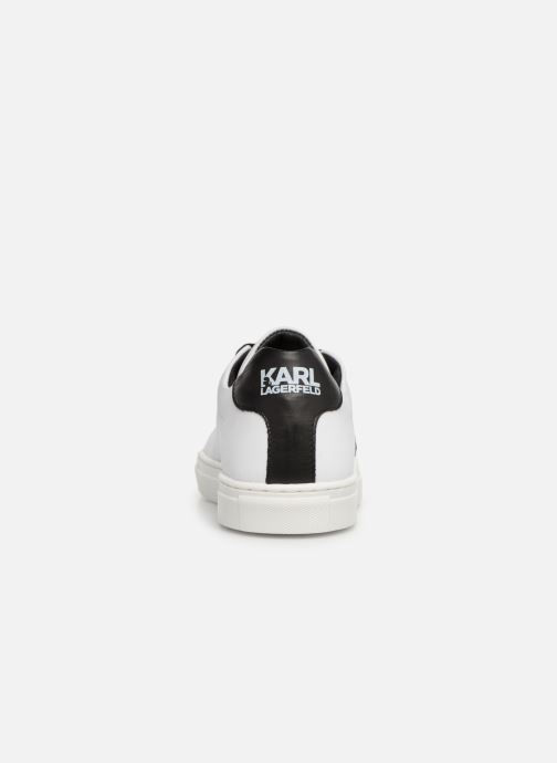 Baskets KARL LAGERFELD Basket Z29016 Blanc vue droite