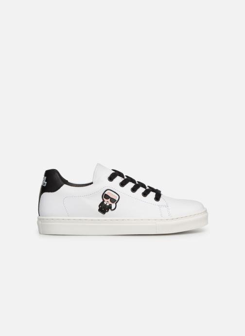 Sneakers KARL LAGERFELD Basket Z29016 Wit achterkant