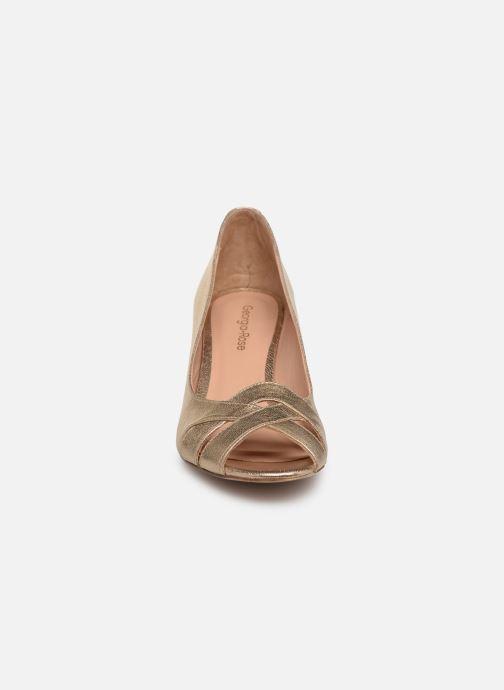 Escarpins Georgia Rose Corealane Or et bronze vue portées chaussures