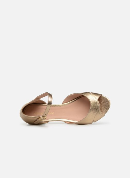 Ballerinas Georgia Rose Chama gold/bronze ansicht von links