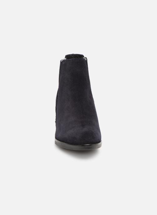 Bottines et boots Georgia Rose Caulia Bleu vue portées chaussures