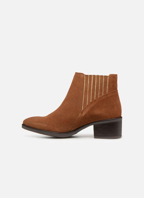 Bottines et boots Georgia Rose Caulia Marron vue face