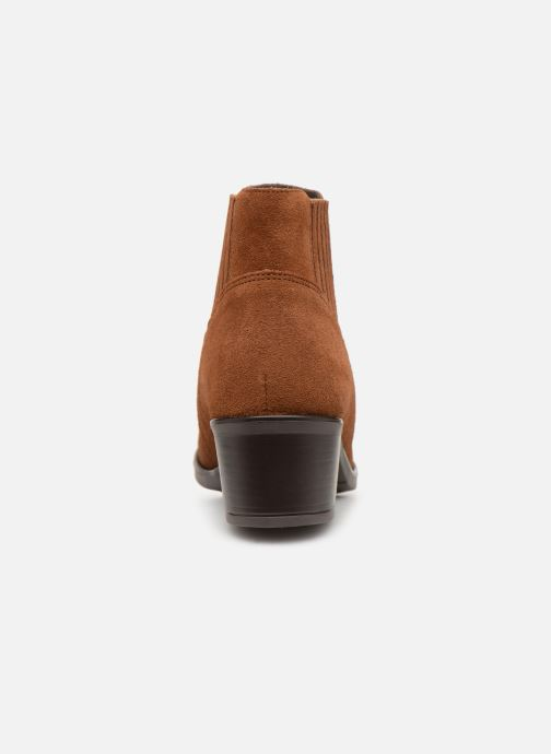 Ankle boots Georgia Rose Caulia Brown view from the right