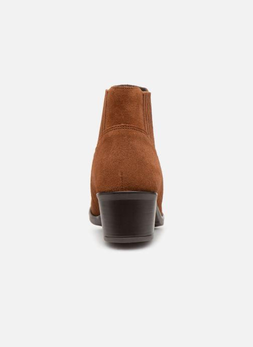 Bottines et boots Georgia Rose Caulia Marron vue droite
