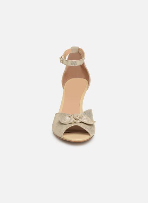 Sandales et nu-pieds Georgia Rose Cobowa Or et bronze vue portées chaussures