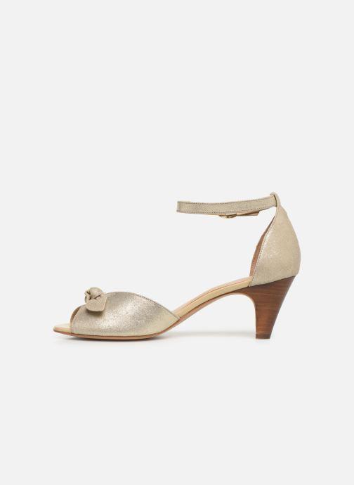 Sandales et nu-pieds Georgia Rose Cobowa Or et bronze vue face