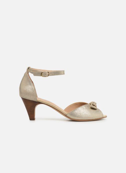 Sandales et nu-pieds Georgia Rose Cobowa Or et bronze vue derrière