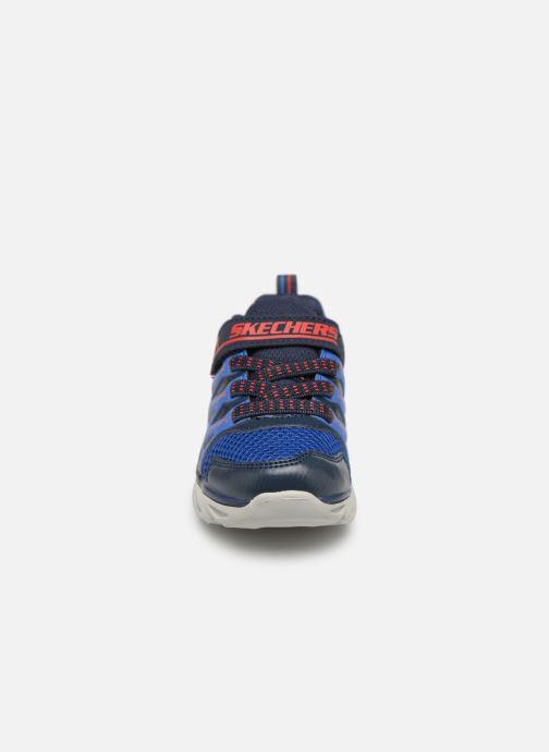 Baskets Skechers Hypno-Flash 3.0 Bleu vue portées chaussures
