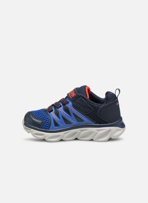 Trainers Skechers Hypno-Flash 3.0 Blue front view
