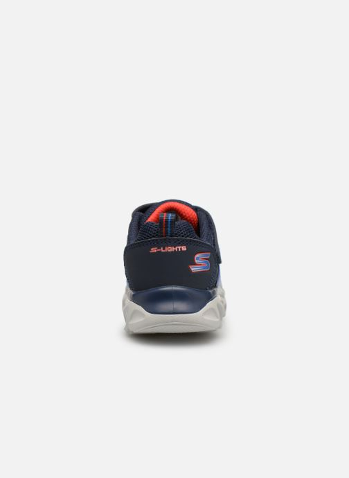 Trainers Skechers Hypno-Flash 3.0 Blue view from the right