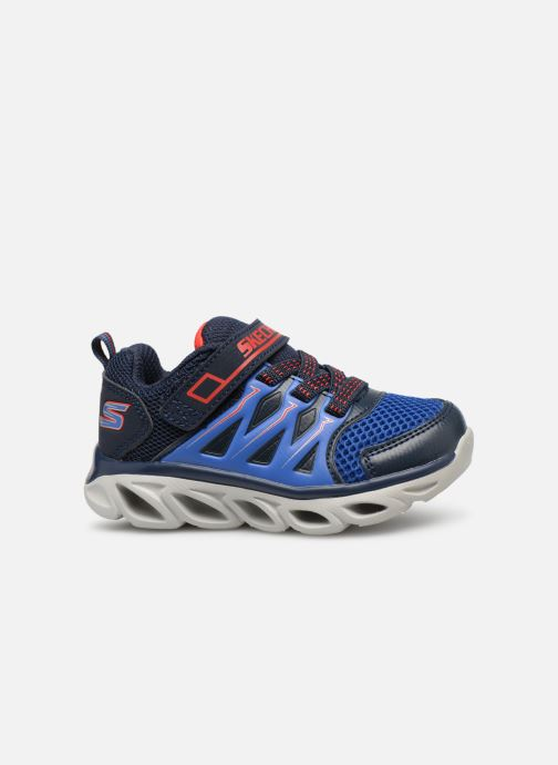 Trainers Skechers Hypno-Flash 3.0 Blue back view